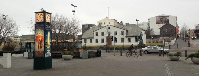Lækjartorg is one of Spring Break Reykjavik!.