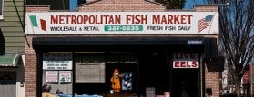 Metropolitan Fish Market is one of Where to Find the Best Seafood in NYC.