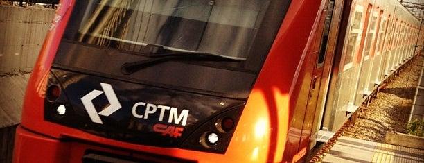 Estação Berrini (CPTM) is one of caminho para o trabalho.