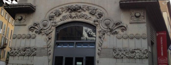Milano liberty art noveau - Biblioteca porta venezia orari ...