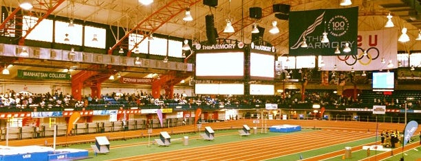 """New Balance Track & Field Center at The Armory is one of """"Be Robin Hood #121212 Concert"""" @ New York!."""