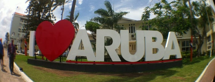 I Love Aruba Landmark is one of Turismo.