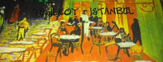 Van Gogh is one of sevdiğim mekanlar.