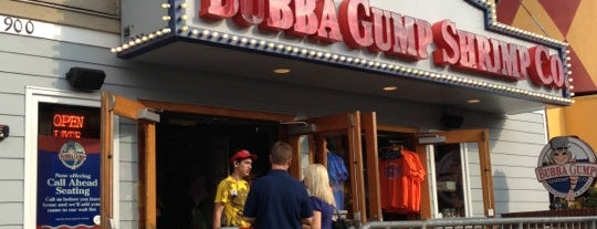 Bubba Gump Shrimp Co. is one of Road Trip.