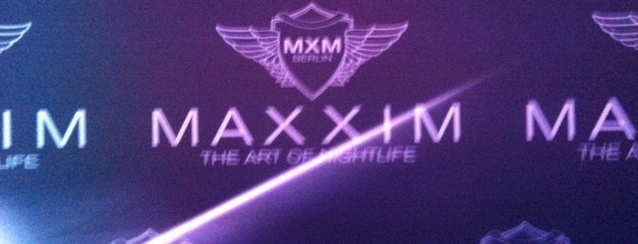 Maxxim Club is one of Berlin.