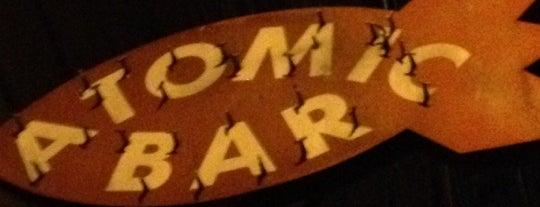 Atomic Bar is one of Favorite Nightlife Spots.