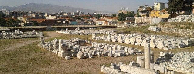Smyrna Agora Antik Kenti is one of İzmir.