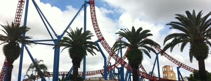 Warner Bros. Movie World is one of Gold Coast.
