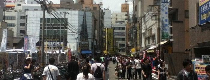 日本橋筋西通商店街 is one of 気になるべニューちゃん 関西版.