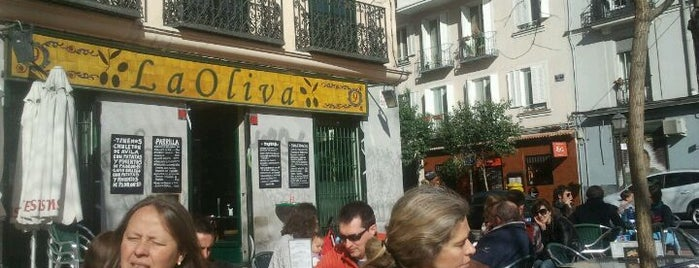 La Oliva is one of BEBER Y COMER EN MADRID.