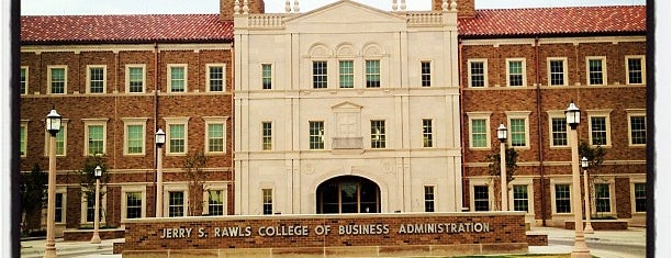 TTU - Rawls College of Business is one of Favorites.
