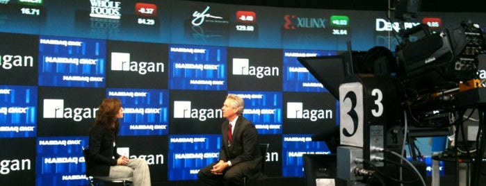 Nasdaq Marketsite is one of Moderator Central.