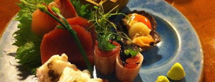 Aizomê is one of Henri's TOP Japanese Food.
