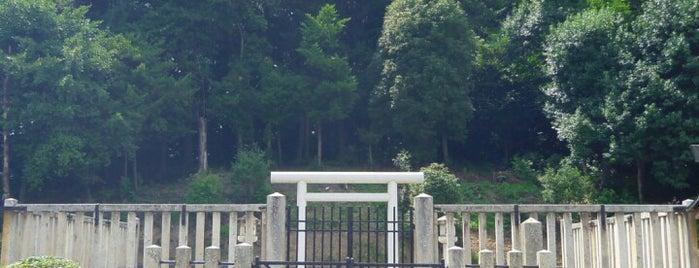 雄略天皇 丹比高鷲原陵(島泉丸山古墳) is one of 天皇陵.