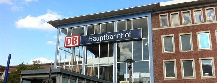 Münster (Westf) Hauptbahnhof is one of Official DB Bahnhöfe.