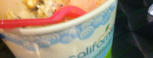 California Berry is one of Uber Yogurt.