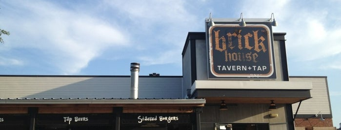 Brick House Tavern + Tap is one of Burger Joints That Serve Burgers.