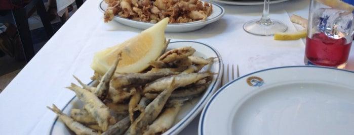 Marisquería Los Mellizos is one of Restaurantes Malaga.