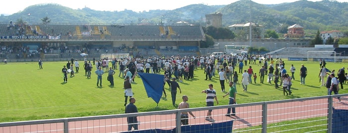 Stadio Bacigalupo is one of Savona - Far from common places.