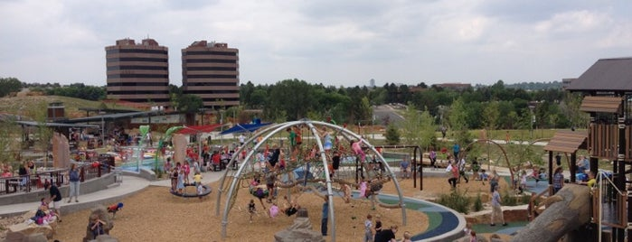 Centennial Center Park is one of Return with Friends.