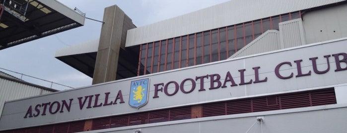 Villa Park is one of Barclays Premier League Grounds & Stadiums 2013/14.