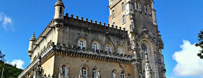 Palace Hotel do Bussaco is one of Hotels in Portugal.