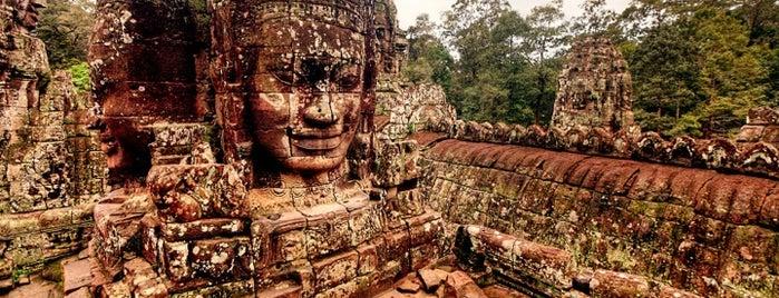 Angkor Wat is one of Siem Reap Sep2012.