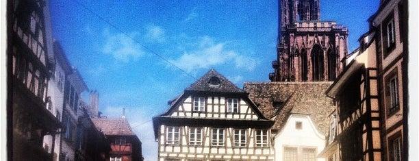 Place du Marché aux Cochons de Lait is one of Strasbourg - Capitale de Noël - #4sqcities.