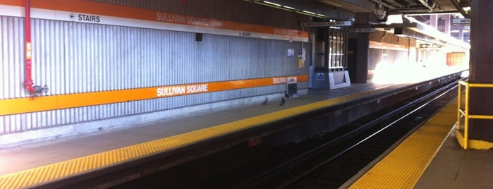 MBTA Sullivan Square Station is one of Boston MBTA Stations.