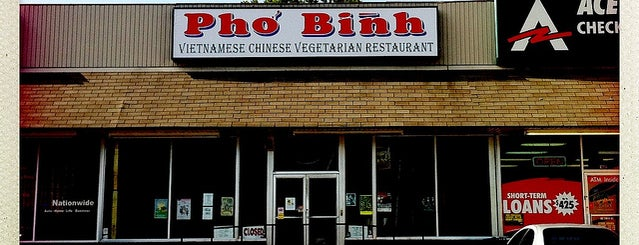 Pho Binh is one of Fave Food.