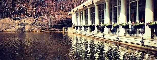 Central Park Boathouse is one of Park Highlights of NYC.