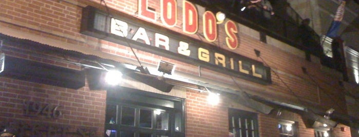 Lodo's Bar And Grill is one of National Redskins Rally Bars.