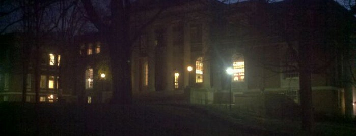 Peabody Library is one of Reunion 2012.
