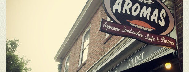 Aromas Coffeehouse Bakeshop & Cafe is one of Favorite Places.