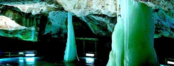 Dobšinská ľadová jaskyňa is one of UNESCO Slovakia - kultúrne/prírodné pamiatky.