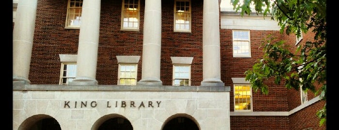 King Library is one of Miami U.