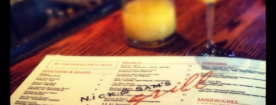 Nick & Sam's Grill is one of Central Dallas Lunch, Dinner & Libations.