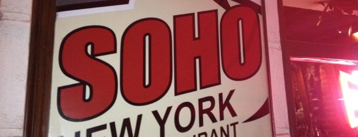 Soho Bar is one of Restaurantes.