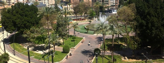 Plaza Circular is one of Murcia, que hermosa eres!.