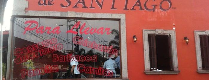 Barbacoa de Santiago is one of El buen comer :P.