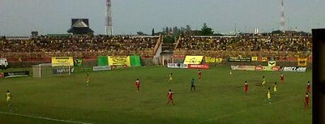 Stadion Kota Batik is one of Pekalongan World of Batik.