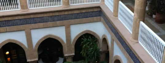 Heure Bleue Palais Hotel Essaouira is one of CBM in Morocco.
