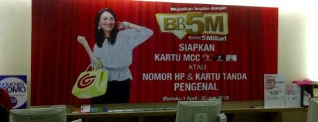 Matahari Department Store is one of Pekalongan World of Batik.