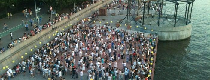 Танцевальная площадка is one of Танцы.