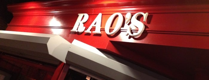 Rao's is one of How The West Was Won.