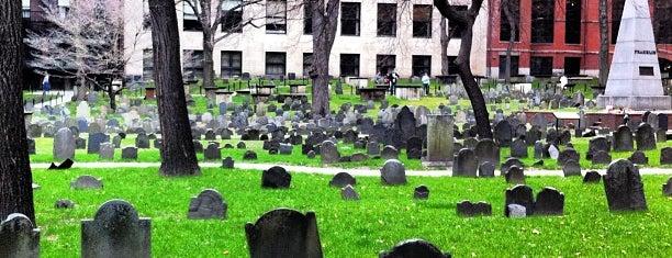 Granary Burying Ground is one of Paranormal Traveler.