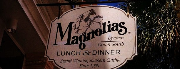 Magnolias is one of my charleston places.