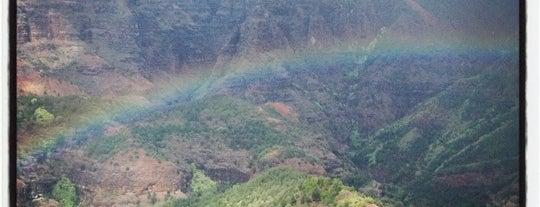 Waimea Canyon Trails is one of Kauai.