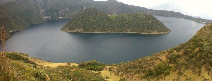 Laguna de Cuicocha is one of Ecuador best spots.