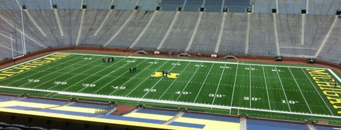 Michigan Stadium is one of 101 Things to Do Before You Graduate.